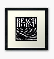 Beach House Bloom Framed Print