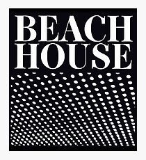 Beach House Bloom Photographic Print