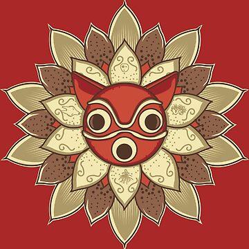 Mandala spirit by piercek26
