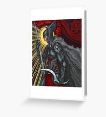 red reaper Greeting Card