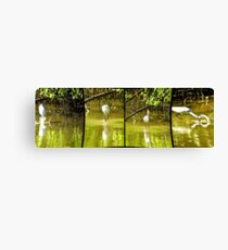 Rusty Fishing Skills- Quadtych Canvas Print
