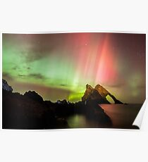 Northern Lights with Bow Fiddle Poster