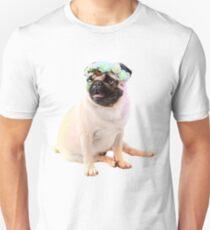 Hipster Pug T-Shirt