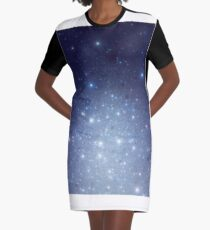 Stars freezing to standstill T-Shirt Kleid