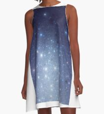 Stars freezing to standstill A-Linien Kleid