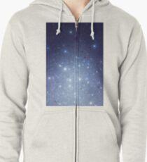 Stars freezing to standstill Hoodie mit Reißverschluss