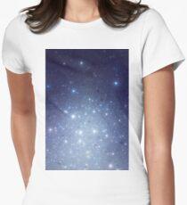 Stars freezing to standstill Tailliertes T-Shirt für Frauen