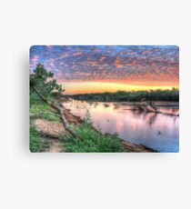 Fitzroy River. Canvas Print