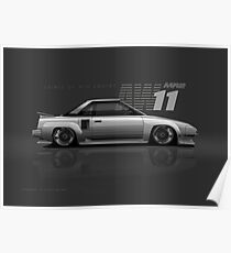 N2 AW11 Toyota MR2 Poster