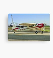 Cessna 195 Businessliner G-BTBJ Canvas Print
