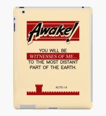 Vintage: Old Awake with Acts 1:8 iPad Case/Skin