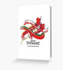 Königlicher Stewart Grußkarte