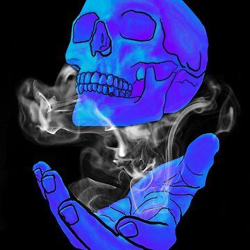 Smokey Skull  by Forbesmo