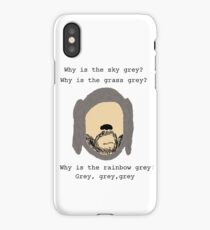 Wilfred grey iPhone Case