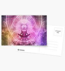 Yoga Buddha Style Postcards