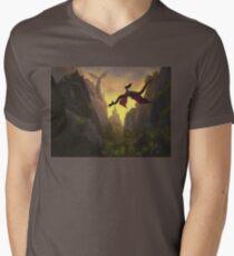 Dragon Rider V-Neck T-Shirt