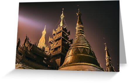 Celestial Spires - Yangon, Myanmar by JamesKaoFoto