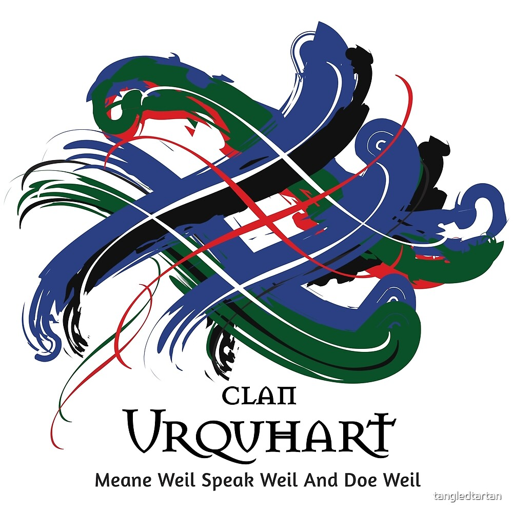 Clan Urquhart  by tangledtartan