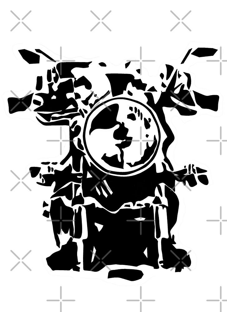 Motorrad frontal by freaks13