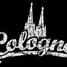 Cologne Classic Vintage Schwarz/Weiß von theshirtshops