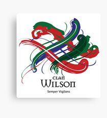 Clan Wilson  Canvas Print