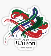 Clan Wilson  Sticker
