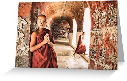 Monk Musings - Nyaung Shwe, Myanmar by JamesKaoFoto