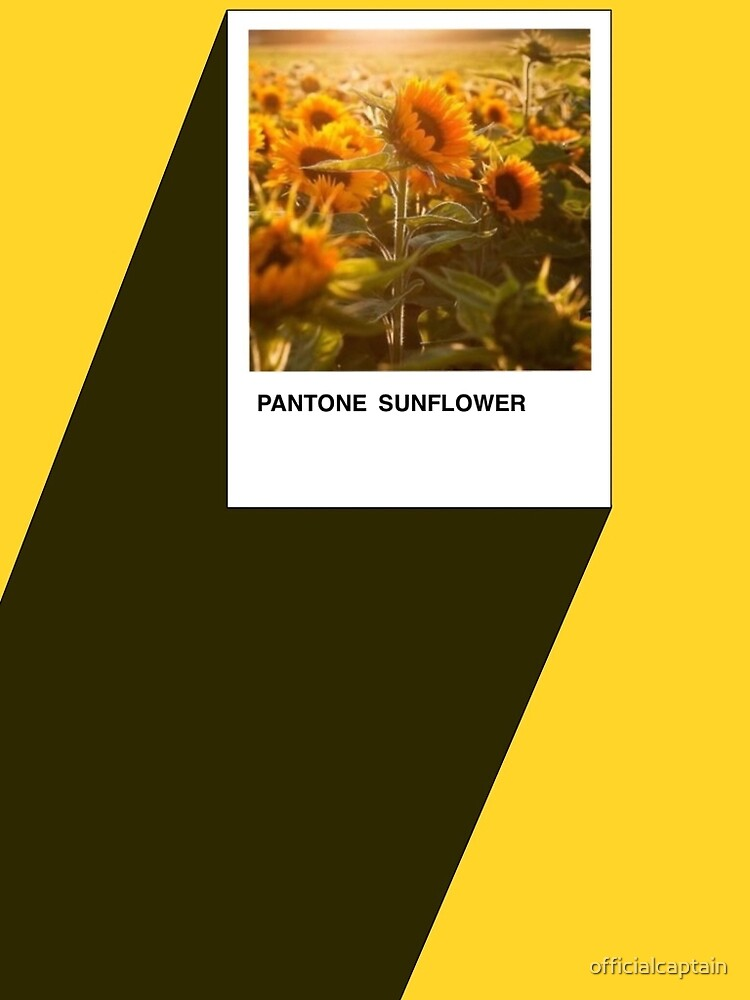 Pantone Sunflower by officialcaptain