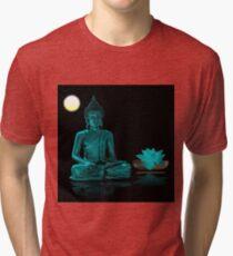 Buddha Yoga Zen Tri-blend T-Shirt