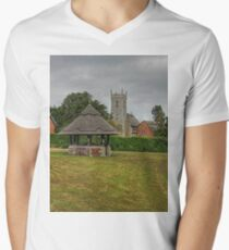 Woodbastwick village green and church T-Shirt