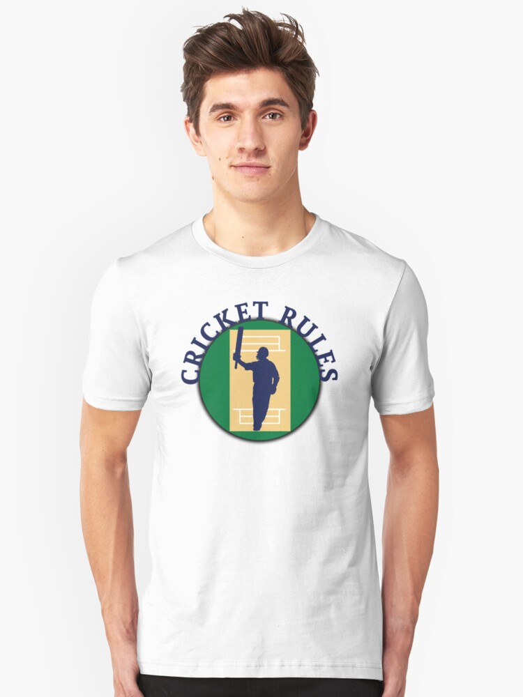 Cricket Rules Unisex T-Shirt Front