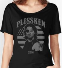 Plissken For President 2016 Women's Relaxed Fit T-Shirt