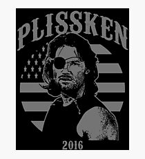 Plissken For President 2016 Photographic Print