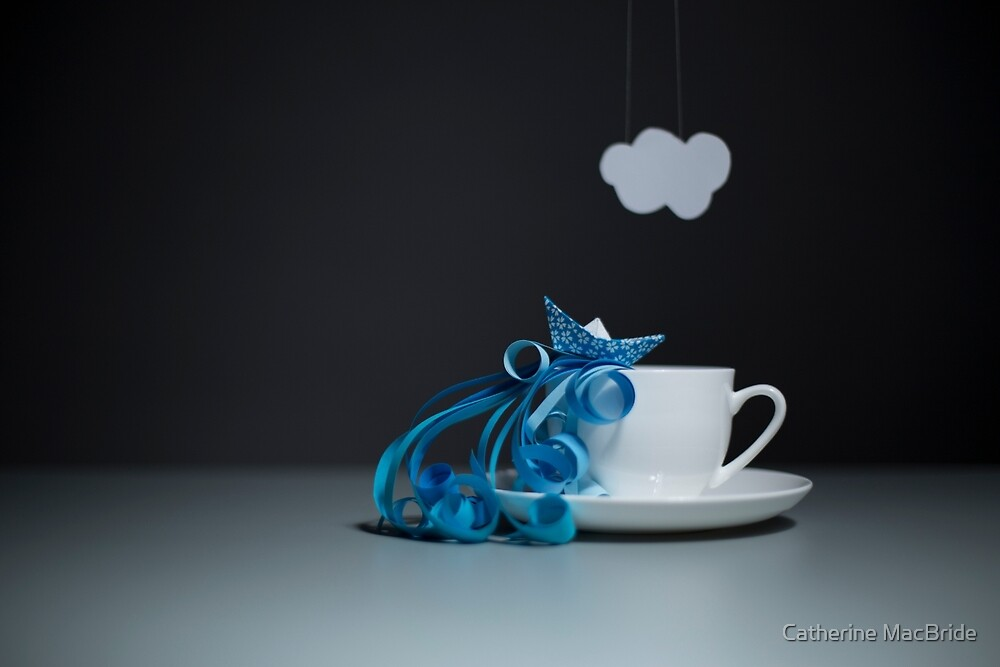 Storm in a teacup... by Catherine MacBride