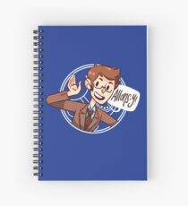 Another Allons-y! Spiral Notebook