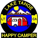 HAPPY CAMPER LAKE TAHOE NATIONAL PARK CALIFORNIA CAMPING CAMP by MyHandmadeSigns