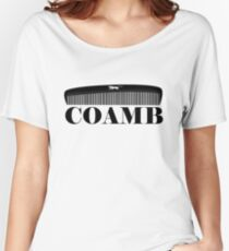 COAMB print- cougar on comb Women s Relaxed Fit T-Shirt 282babb9e