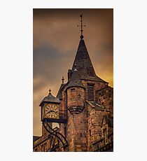 Canongate Tolbooth: The Royal Mile, Edinburgh Photographic Print