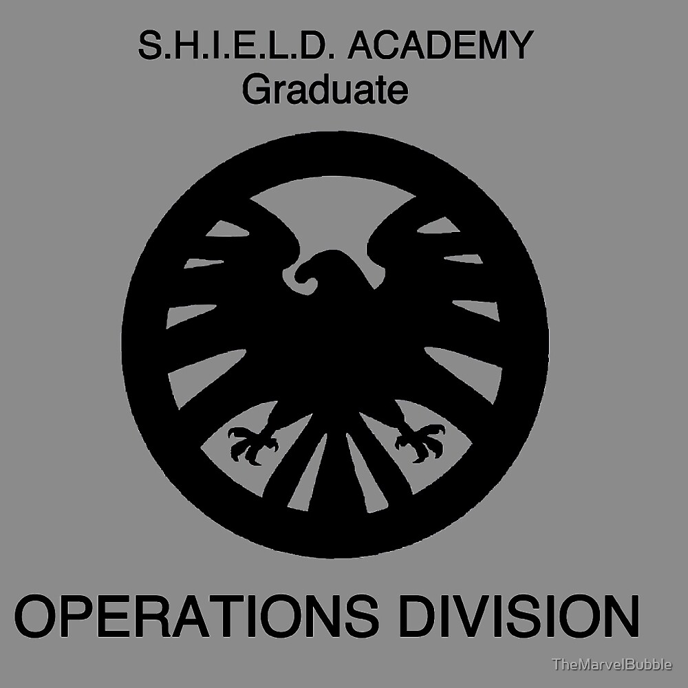 Shield academy graduate - operations division by TheNerdBubble
