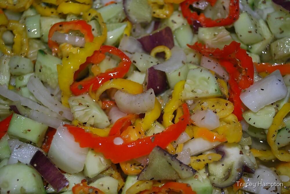 Greek salad by Tracey Hampton