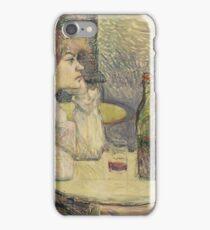 Henri de Toulouse-Lautrec  - The Hangover (Suzanne Valadon) (1887 - 1889)Woman Portrait iPhone Case/Skin