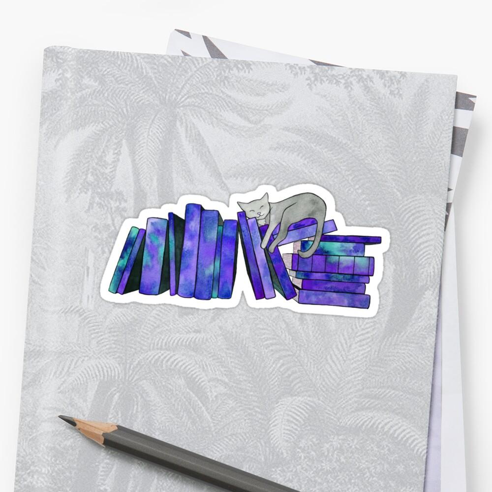 Literarische Nickerchen Sticker