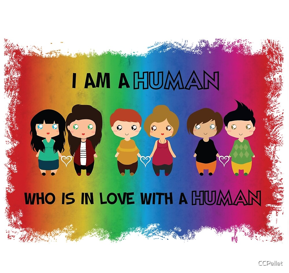 I'm a human who is in love with a human  by CCPellet