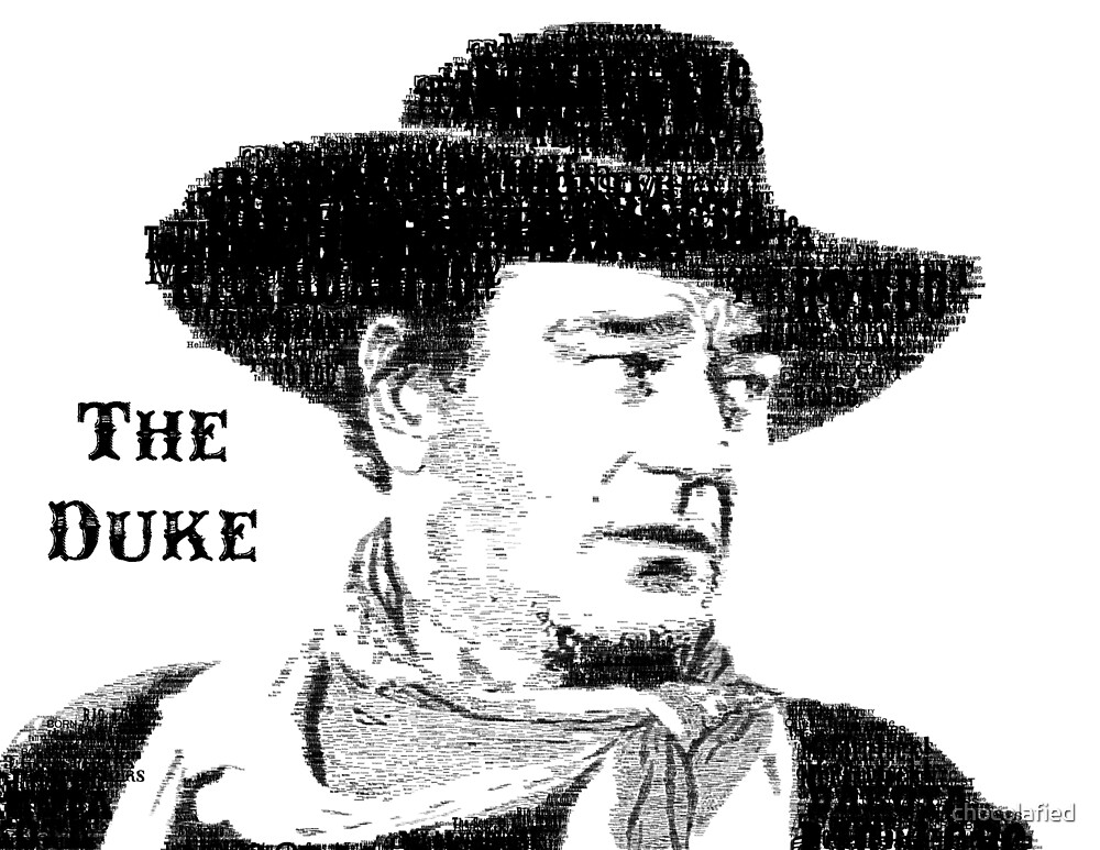 The Duke Typography by chocolafied