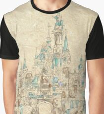 Enchanted Storybook Castle Graphic T-Shirt