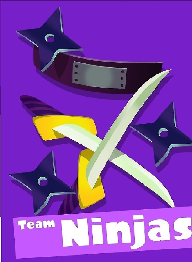 Splatfest Team Ninja  by KUmNasAIon