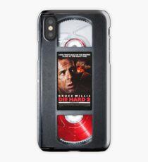 Die hard 2 vhs iphone-case iPhone Case
