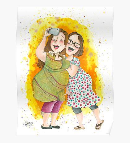 Friendship Selfie Poster