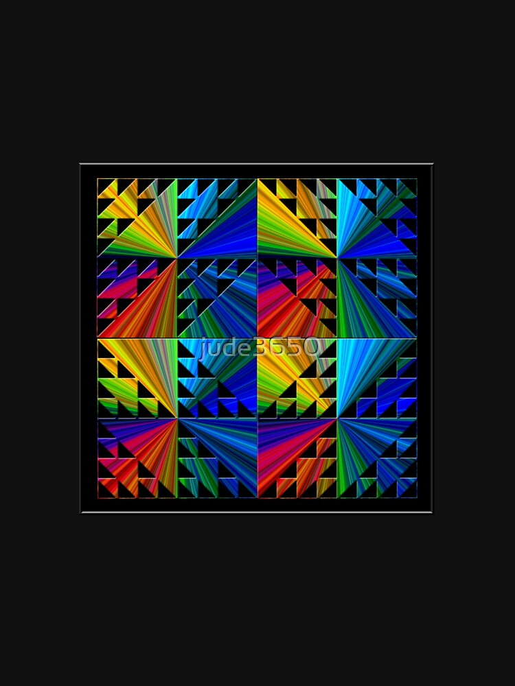 Colorful Psychedelic Pattern by jude3650