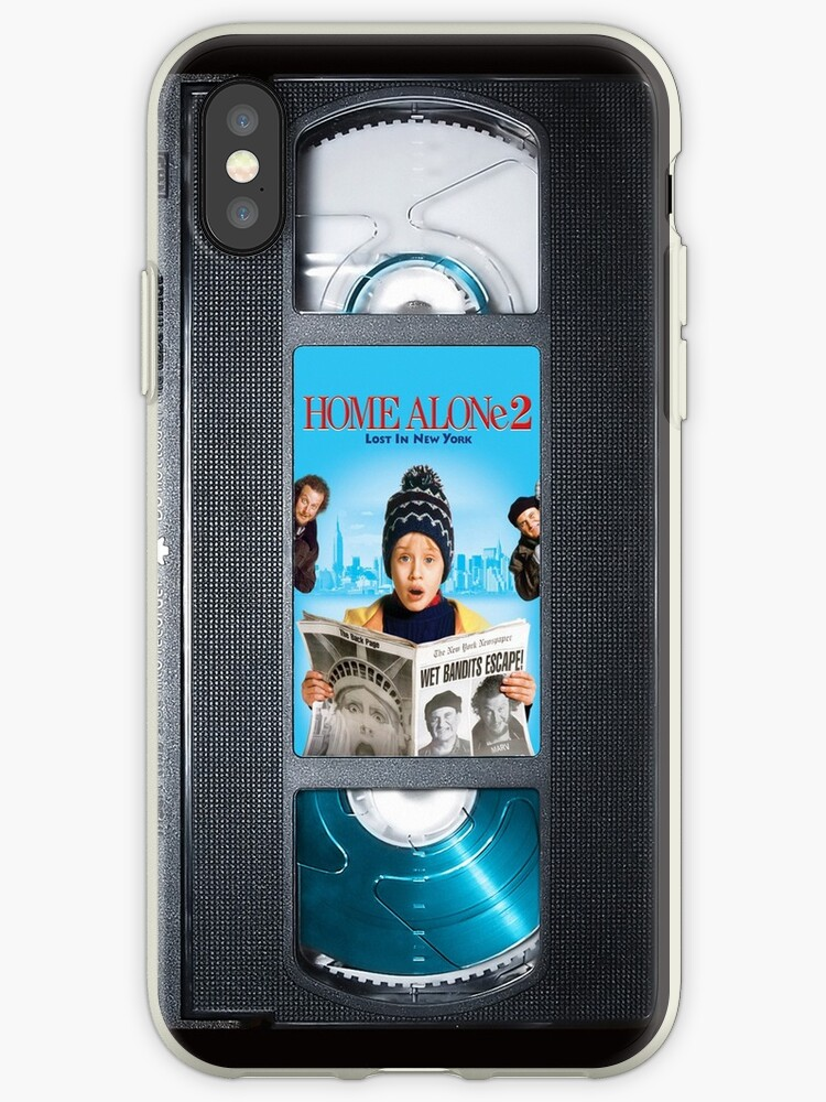 Home Alone 2 vhs iphone-case by Abricotti